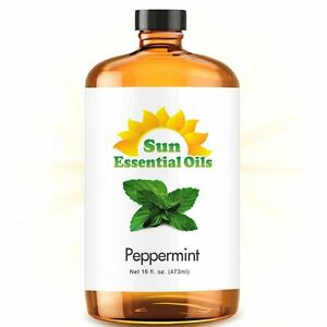 Best Peppermint Essential Oil 100% Purely Natural Therapeutic Grade 16oz