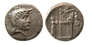 PCW-A510-KINGS of PERSIS. Autophradates II.  2nd Century BC. Silver Tetradrachm.