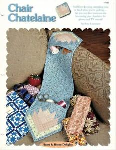 Chair Chatelaine Creative Scrap Paper Pieced Quilted Sewing Pattern Leaflet $4.95