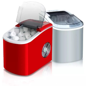 Mini Automatic Electric Ice Maker Portable Bullet Round Block Ice Cube Making