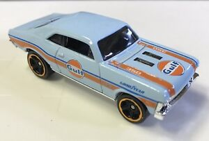 HOT WHEELS  2018    '68 CHEVY NOVA   ( GULF )  (  BABY BLUE )   ( LOOSE )