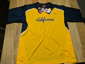 Nike Team California dri-fit Shirt Large L t-shirt Cal UC Berkeley fit dry oski