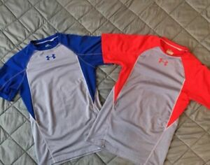 Under Armour UA Boys' Short Sleeve Fitted T-Shirt (2 for 1 Price)