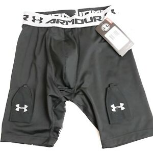Youth Under Armour Purestrike Compression Hockey Jock Shorts