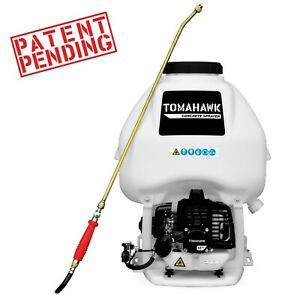 Backpack Concrete Sprayer 6.5 Gallon .5 GPM Gas 435 PSI Cement Sealant Finishing