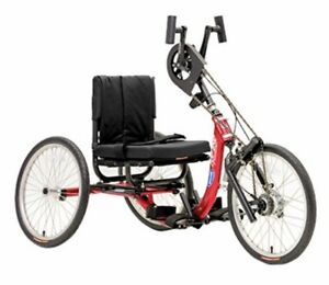 Adult Tricycle Hand Powered  Peddaled Top End Bicycle  Exercise Bike