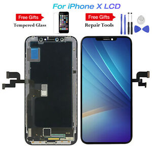 For iPhone X 10 Display LCD Screen Touch Screen Digitizer Assembly Replacement