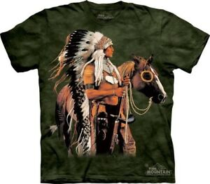Painted And Proud T Shirt by The Mountain. Horse Native American Indian S 5XL $18.70