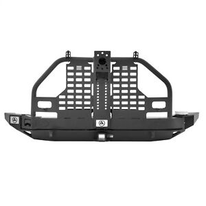Smittybilt 76896 XRC Atlas Rear Bumper And Tire Carrier Fits 07-17 Wrangler (JK)