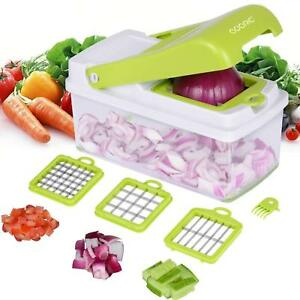 Onion Dicer Vegetable Slicer Cutter Tomato Kitchen Salad Peeler Potato Chopper