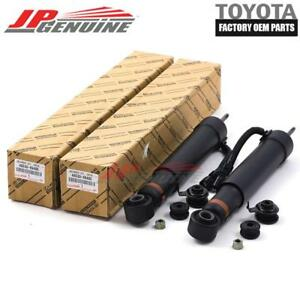 GENUINE LEXUS GX470 OEM REAR LH+RH ABSORBER SUSPENSION SHOCKS PAIR 48530-69485