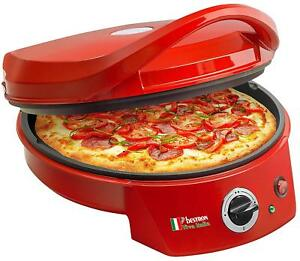 Bestron Apz400 Ovens Toaster pizza Red 1800W - ø 10 58in con Thermostat
