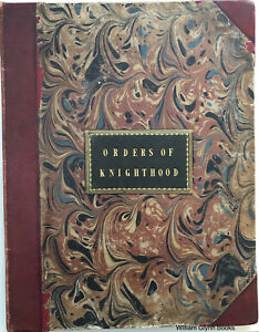 Insignia of the Orders of Knighthood Scarce 1842 Baxter Chromolithographs
