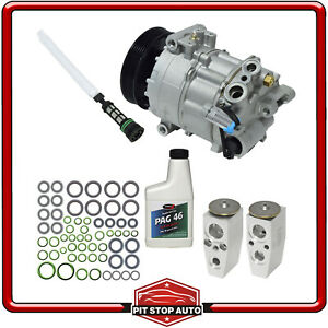 New AC Compressor and Component Kit KT 1230 - 13262836 LaCrosse