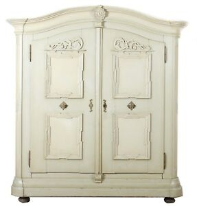 Baroque Wardrobe White Wardrobe Wardrobe Linen Closet Wardrobe Vintage Furniture