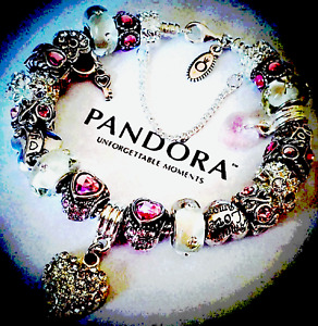 Authentic Pandora Sterling Silver Bracelet