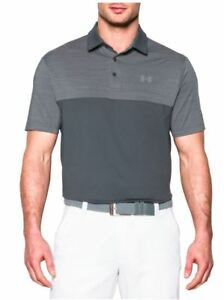 Under Armour® Men Playoff Polo Blocked Shirt Brand New with Tags
