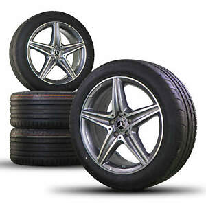 AMG 18 Inch Mercedes E-Class W213 Coupe W238 Alloy Wheel Rims Summer Tires NEW