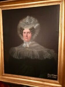 Rembrandt Peale??? Elizabeth Meriwether Lewis of the Lewis and Clark family tree