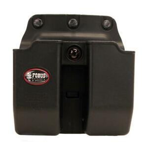 Fobus Double Mag Pouch 9mm 357 and 40 Calibers Belt Black