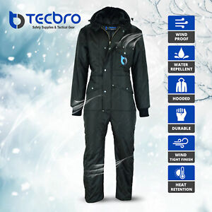 Tecbro Chill Bloc Men#x27;s Insulated Coverall Extreme Cold Weather Freezer Suit 50 $120.00