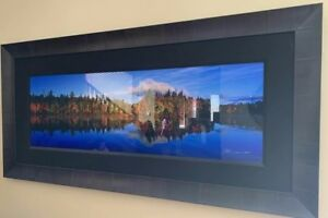 Peter Lik FALL REFLECTIONS 1.5M Signed Limited Edition w COA 606 frame 1010.