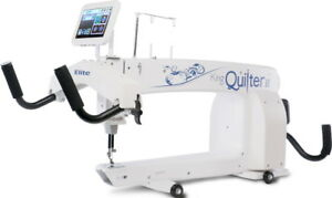 King Quilter II ELITE Long Arm Quilting Machine with 12ft Quilting Frame