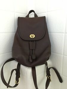 MUST SELL BEFORE 226! COACH Vintage Mini Backpack-Brown-Leather