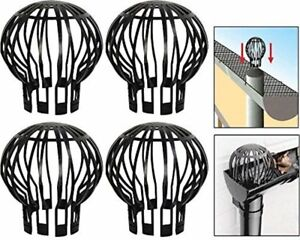 Down Pipe Gutter Balloon Guard Filter. Stops Blockage Leaves Debris. Pack Of 4 $12.99