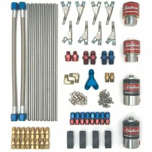 Edelbrock 71841 Nitrous Oxide Victor V8 Direct Port Kit 100-150-200-250 HP