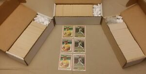 lot of 3 1981 donruss baseball complete sets