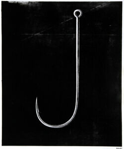 Andrew Castrucci Fish Hook from Bullet Space Your House is Mine Silkscreen