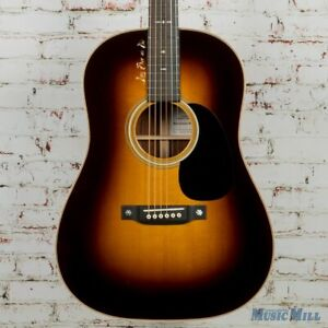 Martin Custom Shop Winter Live Free Or Die Dreadnought Acoustic Guitar Cocobolo