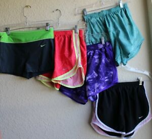 Lot 5 Nike and Under Armour Running Shorts Women's size XS