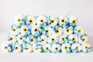 120Pcs Mini Rollers 4 Inch Painting Roller Covers 1 2quot; Nap Durable Roller Brush