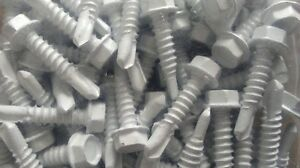 12 x 1in Hex Tek Screws Ceramic Painted (Lot of 600)