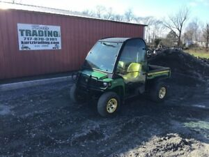 2008 John Deere Gator XUV 850D 4WD Utility Vehicle With Cab!