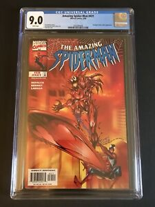 The Amazing Spider-man 431 CGC 9.0 Carnage Surfer!! Venom Cosmic Marvel