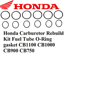 Honda Carburetor Rebuild Kit Fuel Tube O-Ring gasket CB1100 CB1000 CB900 CB750