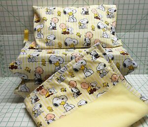 PEANUTS Snoopy & Charlie Brown - KINDERMAT Cover OR 2 3 or 4 piece Sets