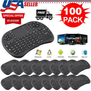 NEW Mini Wireless Keyboard Touchpad 2.4GHz for Android PC TV Box lot 1-100pc TO