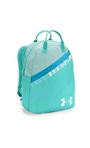 Under Armour UA Favorite Storm Girls Backpack Laptop Bag Teal Repells Water NWT