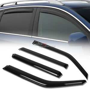 FOR 11 16 NISSAN JUKE SMOKE TINT WINDOW VISOR SHADE VENT WIND RAIN DEFLECTOR