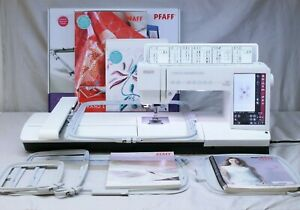 COMPLETE MINT PFAFF CREATIVE SENSATION PRO SEWING QUILTING & EMBROIDERY MACHINE!