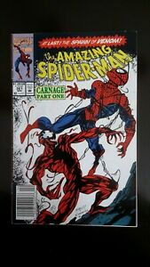 The Amazing Spider-Man #361 (Apr 1992 Marvel) first appearance of CARNAGE.