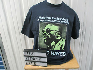 VINTAGE SUPREME X STAXS REC ISAAC HAYES SHAFT BLUE XL T-SHIRT SS 2009 PREOWNED