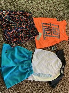 Under ARMOUR Boys 24 Month Outfits 24m Summer Toddler Shorts