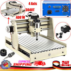 4AXIS 400W 3040 ROUTER ENGRAVER MILLING ENGRAVING CUTTER T-SCREW DESKTOP CUTTING