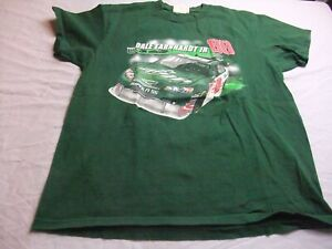Vintage Dale Earnhardt Jr #88 AMP Green T-shirt Size Large