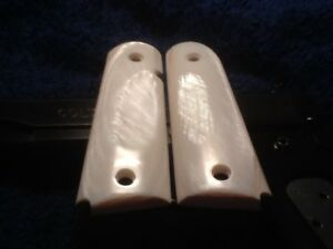 USED 1911 GRIPS (MOTHER OF PEARL)